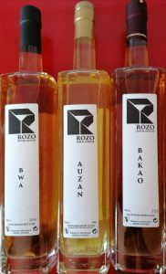 Nouvelle gamme de rhums infusés remarquables ROZO SPIRIT « made in Poitiers »