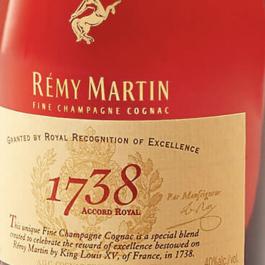 Cognac Remy 1738 – Rémy Cointreau