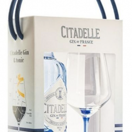 Gin Citadelle (coffret 1 verre) + 1 tonic offert