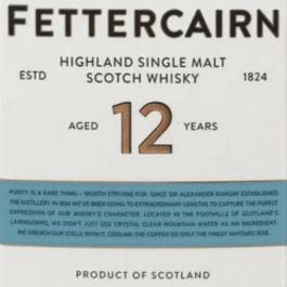 Fettercairn 12 ans (Drop stop Offert)