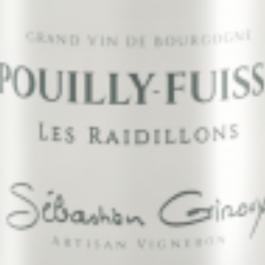 Pouilly Fuissé 2016 (Sébastien Giroux – Les Raidillons)
