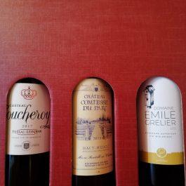 Bordeaux 3 rouges Valisette