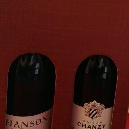 2 Bourgognes : Givry 2018 (rouge) & Chardonnay (blanc)